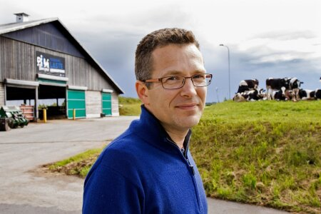 """""""Soovime Kaiusse ehitada uue farmi 1200 lüpsilehmale, samuti laiendada Väätsa farmi veel tuhande lehma võrra,"""" avab Trigon Dairy Farming Estonia juhatuse liige Margus Muld lennukaid tulevikuplaane."""