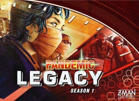 TELESARI PAPPKARBIS: Pandemic Legacy on tulvil kinniseid ümbrikke ja karbikesi, mida avades tekivad ootamatud süžeepöörded.
