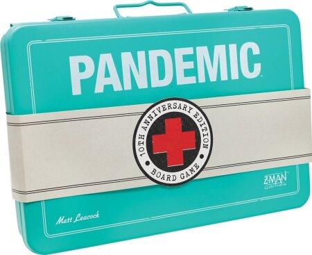 LUKSUSVÄLJAANNE: Sellises karbis anti 2018. aastal välja Pandemicu 10 aasta juubeliversioon.