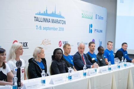 Tallinna Maratoni pressikonverents