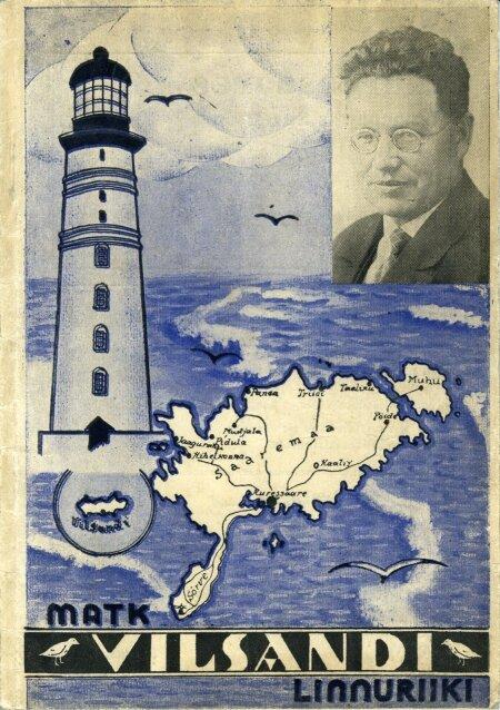 PRESIDENDI VANAISA: Theodor Kaljulaid avaldas 1936 Vilsandi reisijuhi.