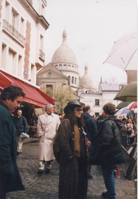 Ludmilla 1980ndatel aastatel Pariisis.
