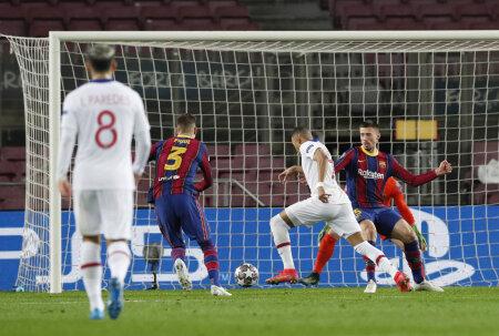 Kylian Mbappe lööb värava