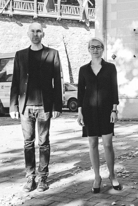 Ralf Lõoke ja Maarja Kask arthitektuuribüroost Salto