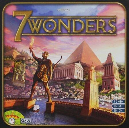 7 WONDERS: Nägus, kiire ja lihtne kaardimäng, mdia saab mängida kuni seitsmekesi.