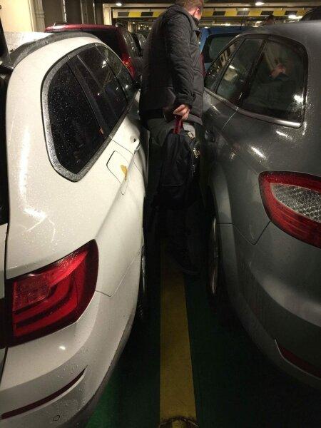 Tallinki laeval on autod kui silgud pütis