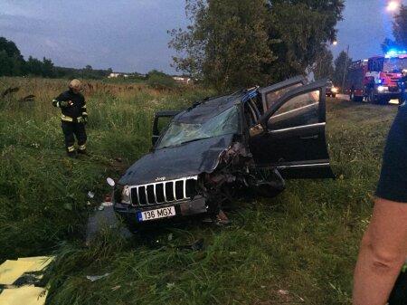 Liiklusõnnetus Tallinnas Rannamõisa teel