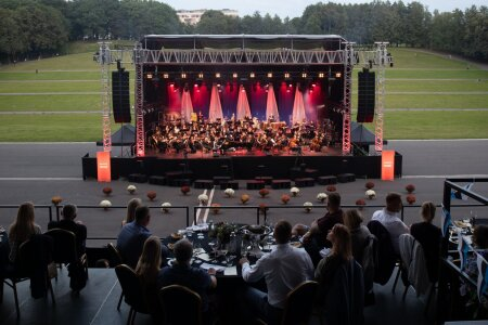 Ruja ja ERSO kontsert lauluväljakul 20.08.2020