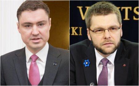 Taavi Rõivas ja Jevgeni Ossinovski