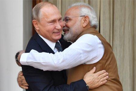 Putin ja Modi