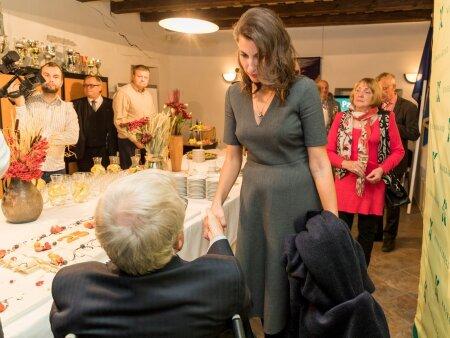 Keskerakond 25. sünnipäev, Olga Ivanova ja Edgar Savisaar