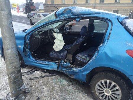 Liiklusõnnetus Tammsaare teel