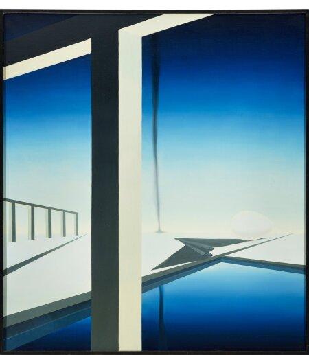 """15. Mari Kurismaa, """"Geomeetriline maastik"""" (1988)."""