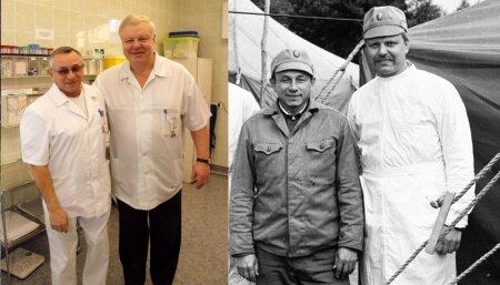 Кохтла-ярвеские врачи-ликвидаторы Чернобыля: тогда и сейчас