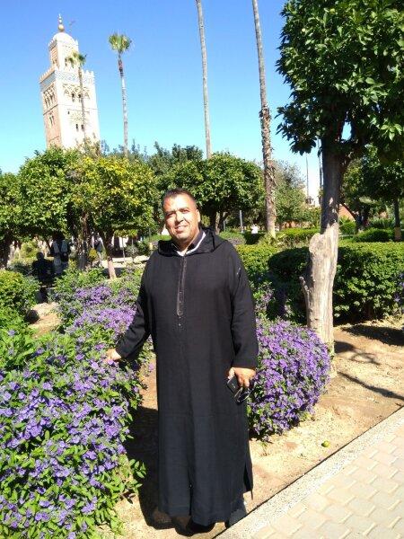 Maroko reisijuht Mohamed Mahfoud.