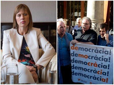 President Kersti Kaljulaid Kataloonias toimuvast