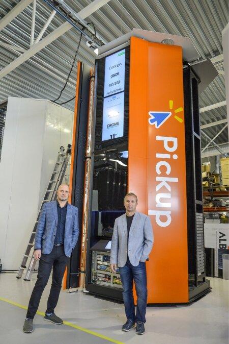Aasta lõpuks töötab USAs Walmarti kauplustes juba ligi 100 Cleveroni pakirobotit.
