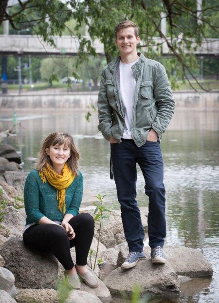 Liina-Mai Kaunissaare ja Joel Lumpre.