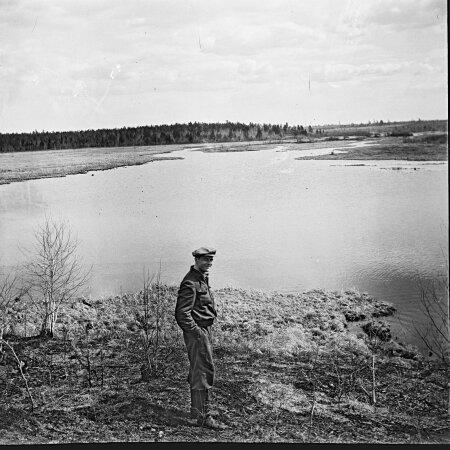Яан Кросс, 1951 год, озеро Абан