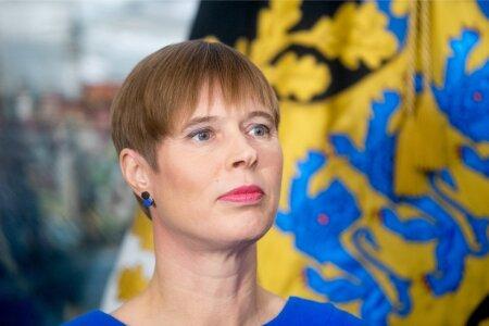 President Kersti Kaljulaidi pressikonverents