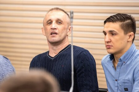 Aserite boss Amid, Kemerovo boss Slava Kemerovski, brigadir ...