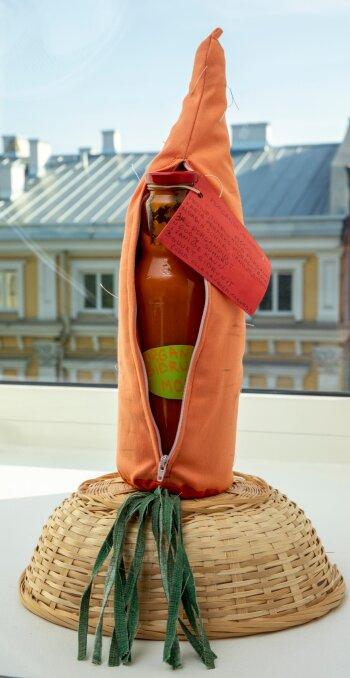 2020. aasta võidutöö oli Tiia Kokmann-Konsapi porgandi- sidrunimoos. See oli huvitav nii oma konsistentsilt kui ka maitsekoosluselt ning pakendatud vahvasse porgandikujulisse ümbrisesse.