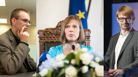 Lauri Linnamäe, Kersti Kaljulaid, Taavi Linnmäe