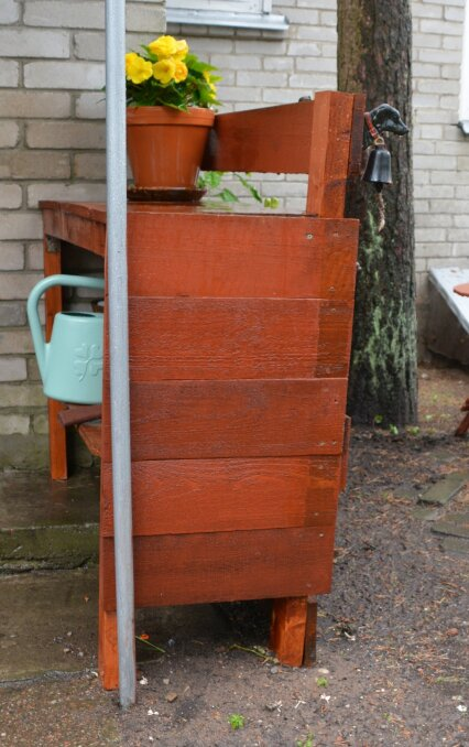 Panipaik hoiab aiatarvikuid korras ja käepärast.