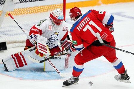 Channel One Cup: Russia vs Czech Republic
