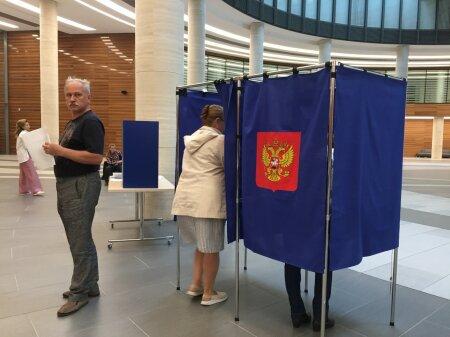 Valimised Peterburis