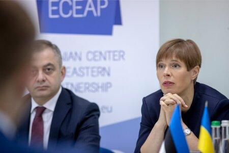 Kersti Kaljulaid Ukraina visiidil