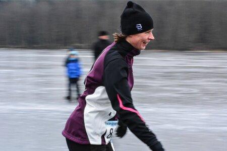 President Kersti Kaljulaid Mulgi uisumaratonil