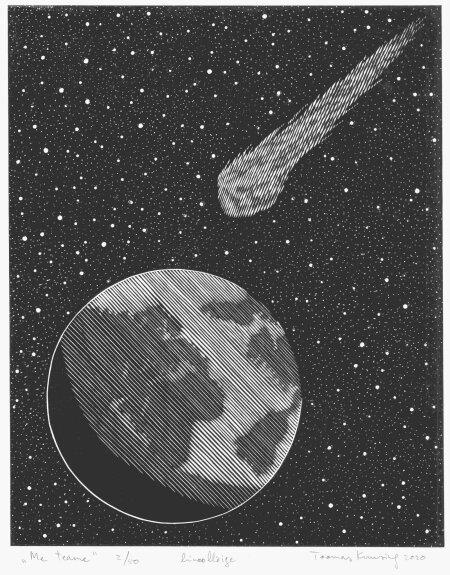 """""""ME TEAME"""": Vahur Afanasjevi viimaseks jäänud romaani """"Õitsengu äärel"""" (2020) illustreeris graafik Toomas Kuusing. """"Kui Vahurile pilte näitasin, olid tema kommentaarid wow, võimas, täpselt, äge, jess, super, naelapea pihta. Lõpuks tundub, et kõige rohkem meeldis talle raamatu kaanepilt """"Me teame"""","""" ütleb Toomas Kuusing."""