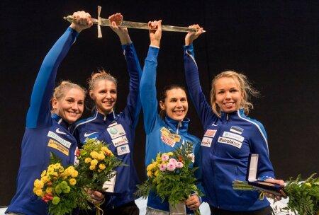 Eesti võidukas naiskond