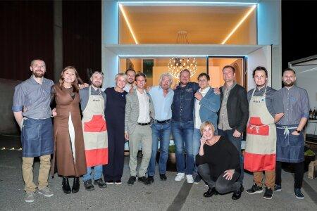 Richard Branson, EASi õhtusöök