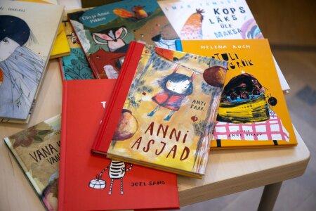 """Anne Pikkovi kujundatud Anti Saare lasteraamat """"Anni asjad"""""""