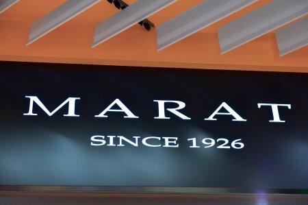 Marati ajalugu algab 1926. aastast, mil Samuel Besprosvanie nime kandnud ettevõte ostis Saksamaalt esimese uue mehaanilise kudumismasina, et hakata trikooesemeid tootma.