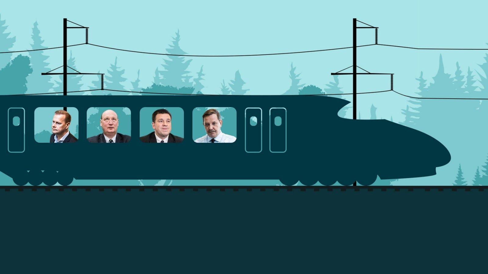 Rail Balticu projekti vedajad paluvad euroliidult armuaega: