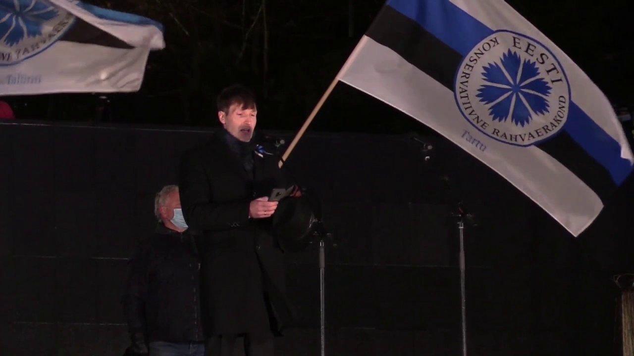 VIDEO | Martin Helme:  mitmest kõnest on kõlanud mõte, et oleme koroona tõttu uues Vabadussõjas. Oleme küll, aga mitte koroona tõttu