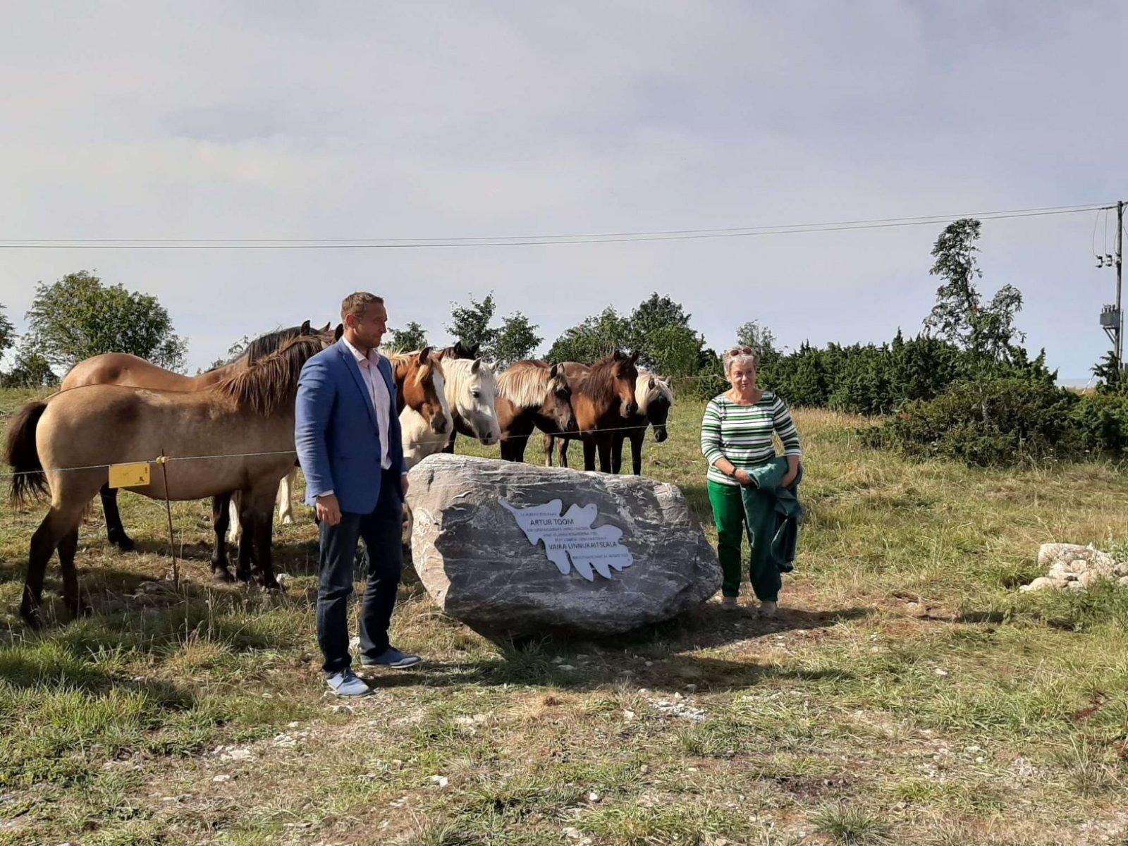 Eesti looduskaitse sünnipaigas on tänasest mälestuskivi:
