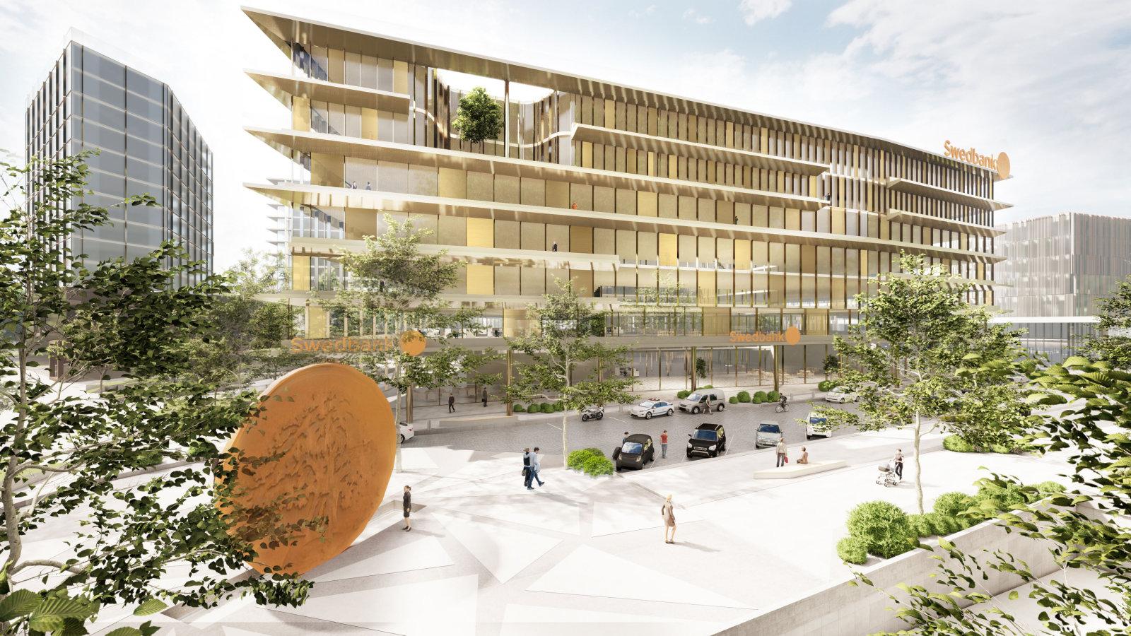 Swedbanki plaanib Eestis peakontori kolimist