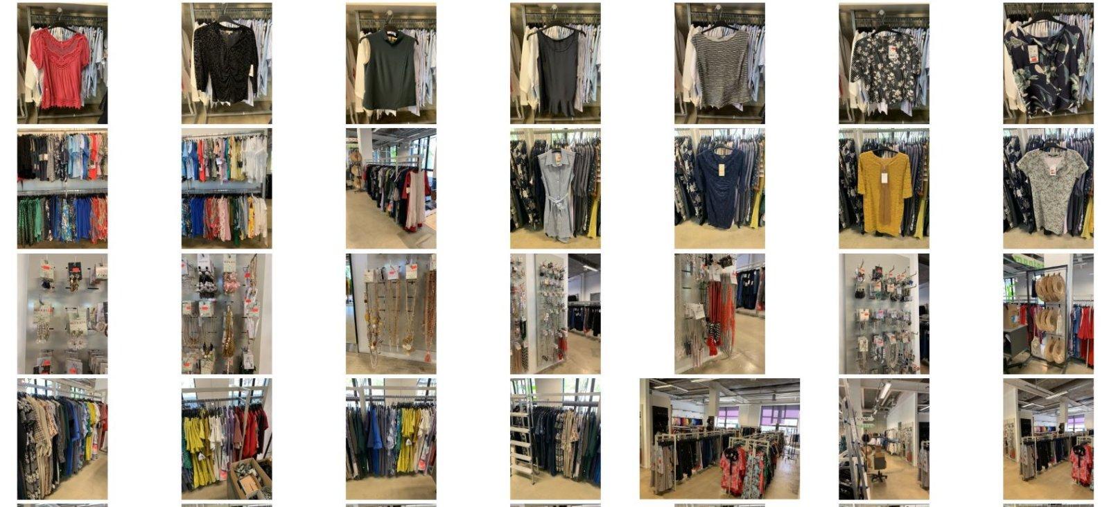 FOTOD | Ootamatu areng. Eesti rõivatootmise suurnimi ei maksa renti. Tohutu kogus riideid ja muud nodi pannakse oksjonile: