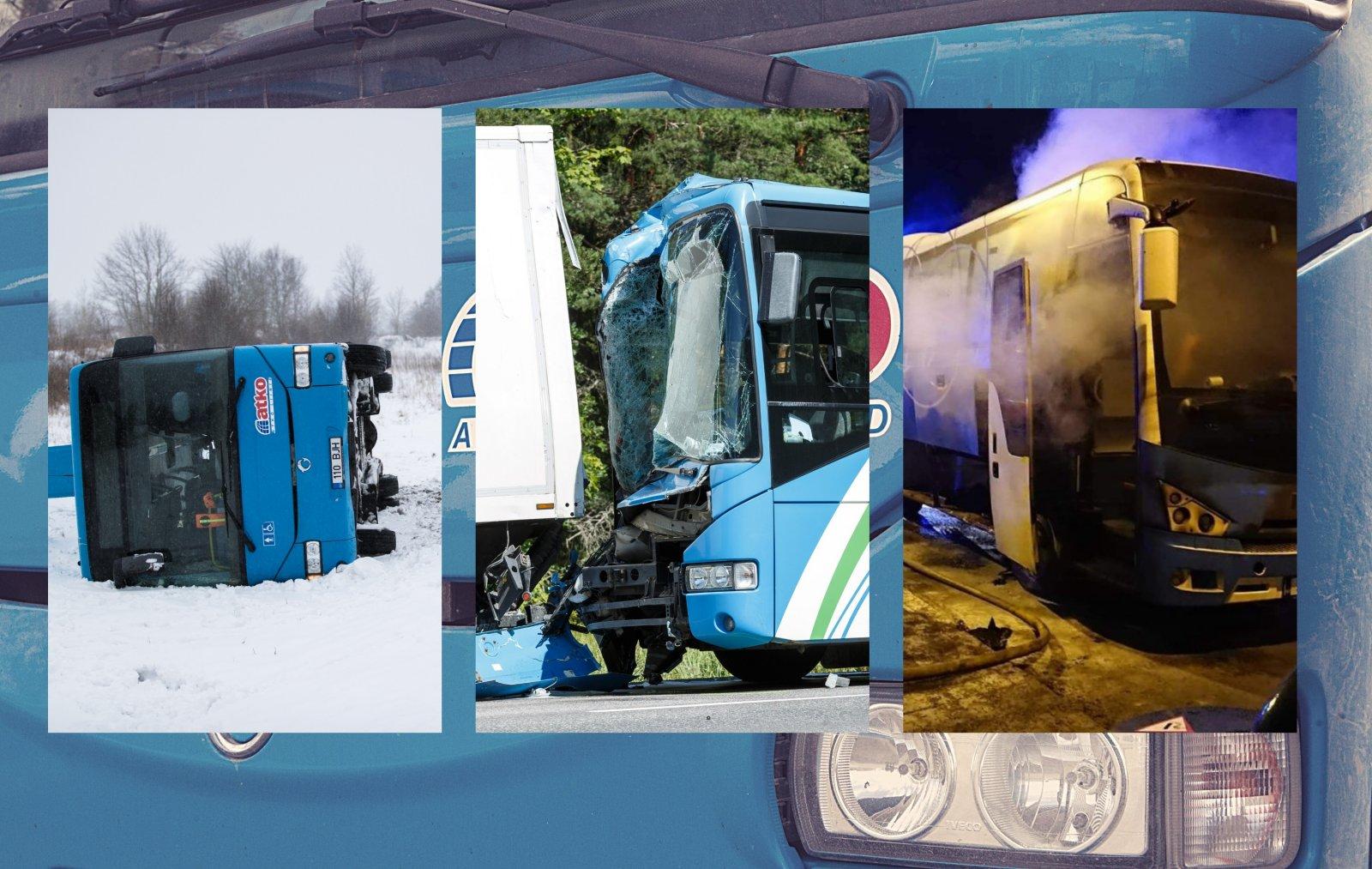 Juhid purjus, bussid põlevad. Kas Atko ongi Eesti halvim ettevõte?