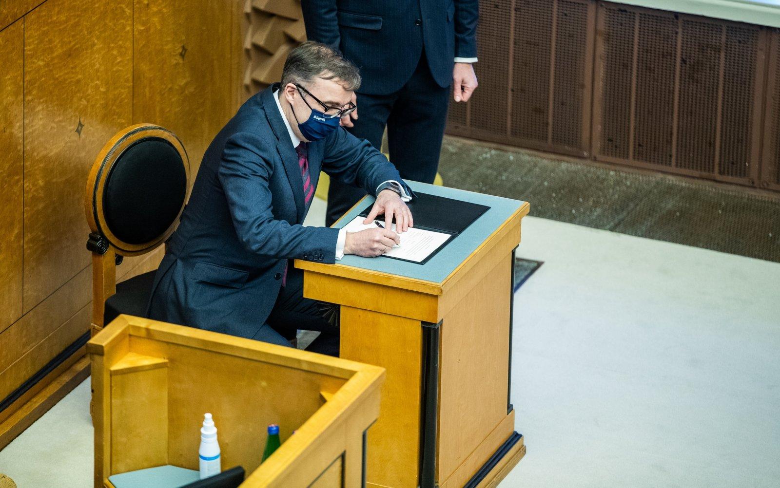 Ministrite vastutusalades tehakse ümberkorraldusi, Suti amet saab uue nime: