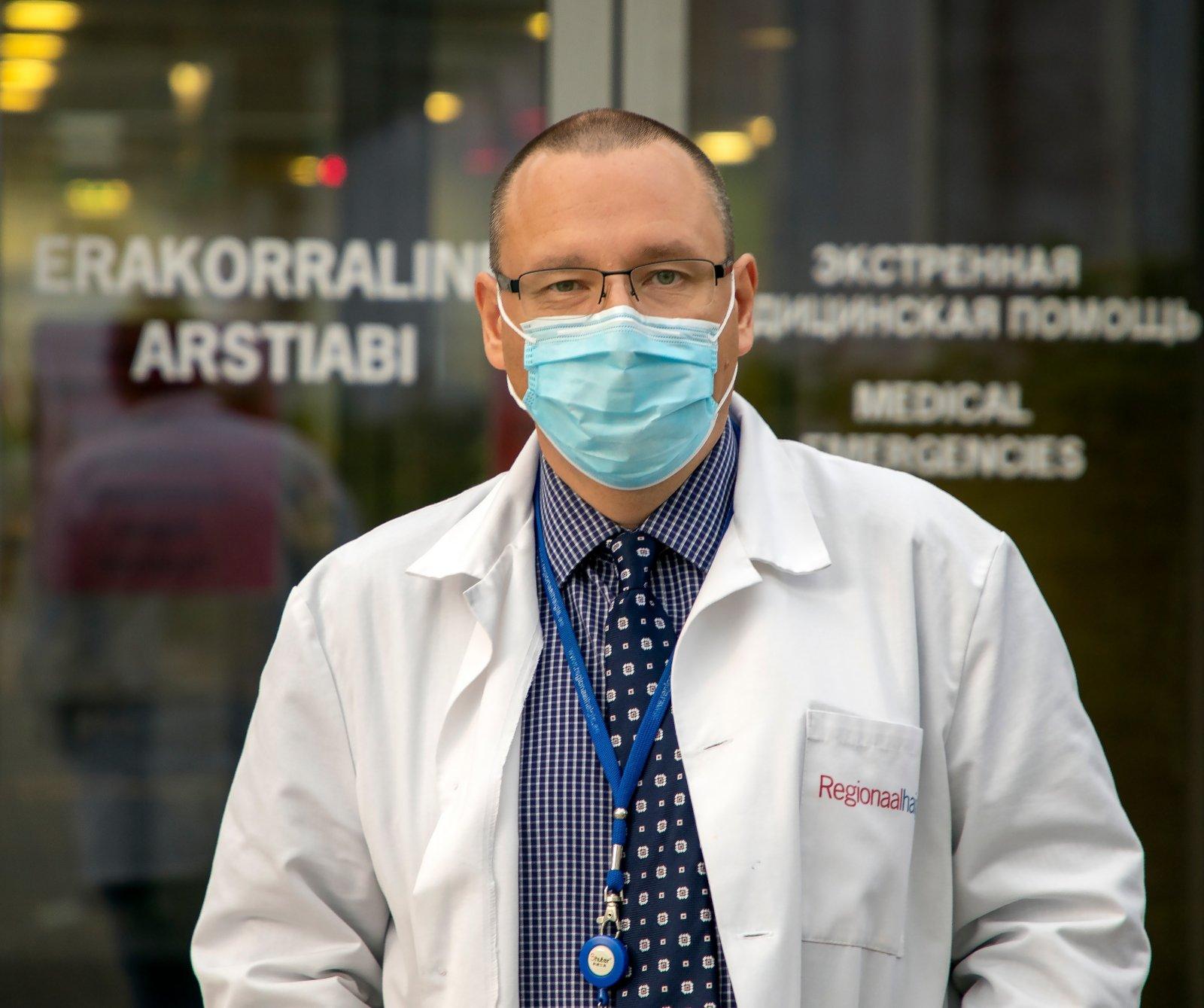 Lääne-Tallinna Keskhaigla juhatuse uueks esimeheks valiti Arkadi Popov alates 5. detsembrist.