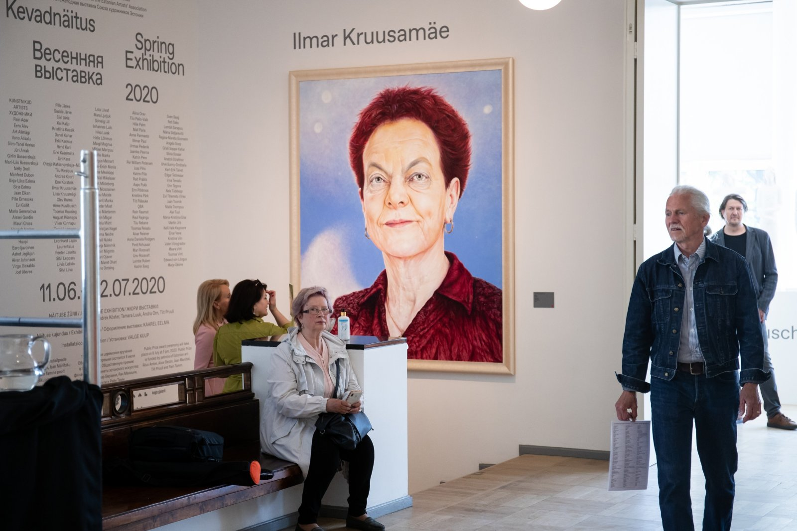 FOTOD | Kunstihoone Kevadnäitusel näeb 66 kunstniku maalitud 74 portreed