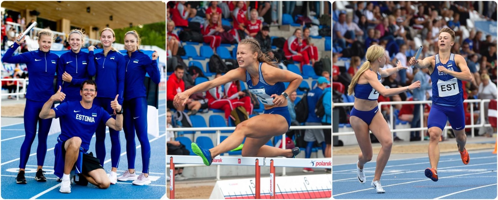 Balti kergejõustiku meistrivõistlustel sündis kolm noorteklassi rekordit: