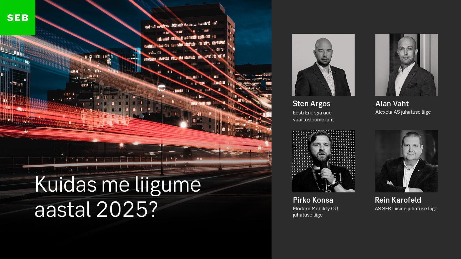 Milliseks kujuneb autonduse tulevik?