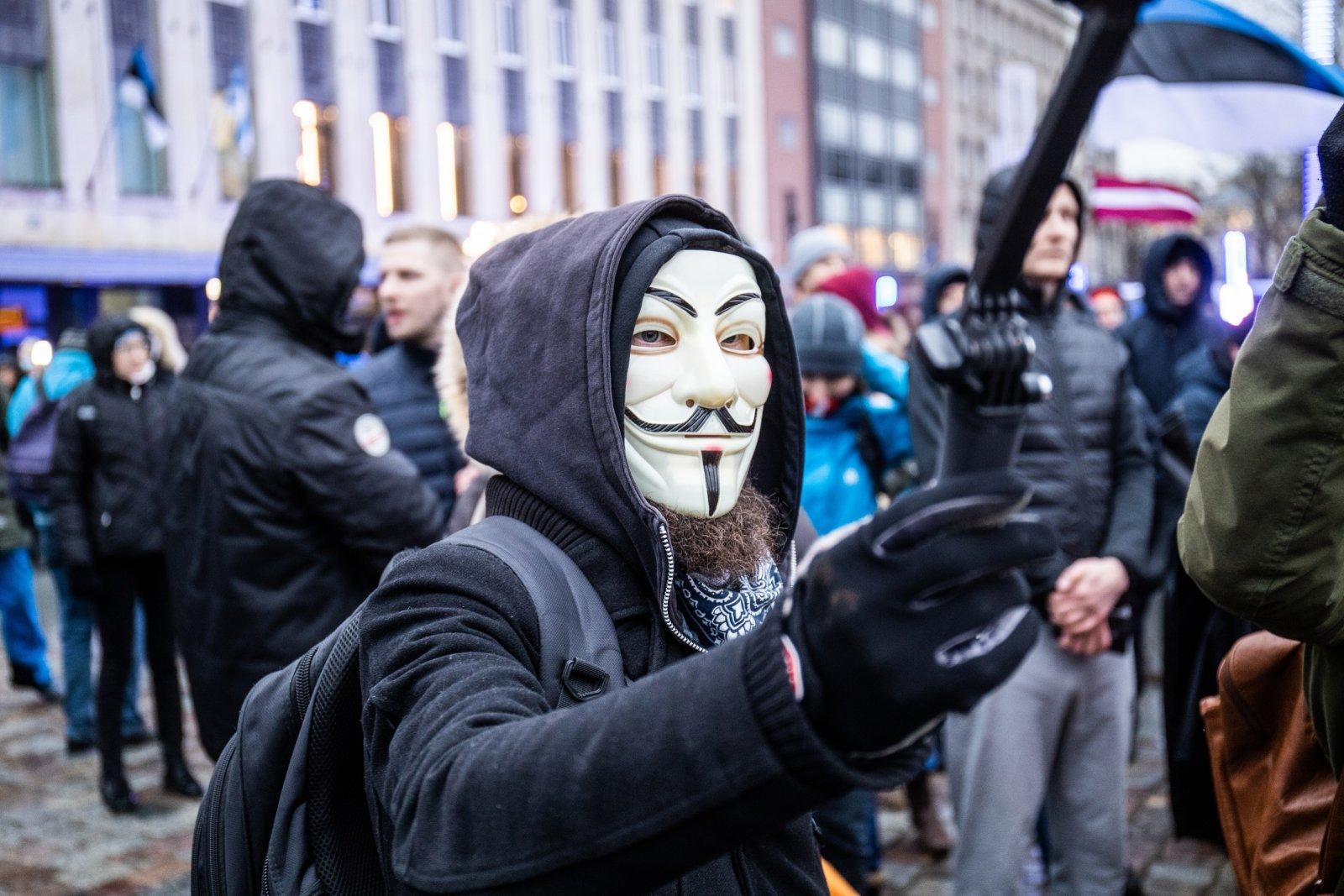 NÄDAL KOMMENTAARIUMIS   Kogu maskikandmine Eestis on puhas formaalsus!: