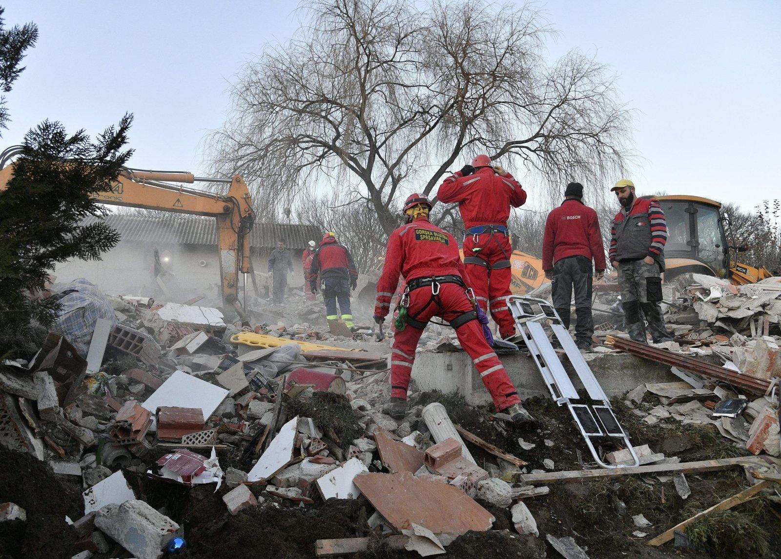 FOTOD | Horvaatia maavärin tappis vähemalt seitse inimest